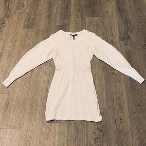 Isabel Marant White Sweatshirt Mini Dress